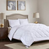 Madison Park Cotton Rich Full/Queen Comforter in White