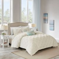 Harbor House™ Cannon Full/Queen Duvet Cover Set in White