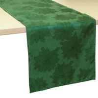 Bardwil Linens Winter Joy 70-Inch Table Runner in Green