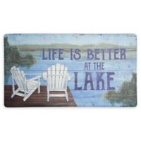 Home Dynamix® Cook N Comfort Life at the Lake Kitchen Mat