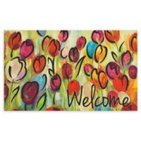 Mohawk Home® Rainbow Tulips Entry Mat