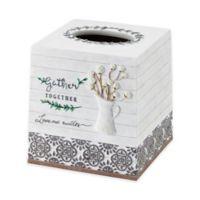 Avanti Modern Farmhouse Boutique Tissue Box Cover