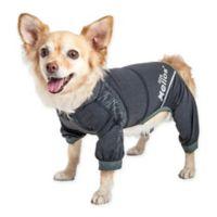 Helios Namastail Yoga Small Dog Tracksuit in Black