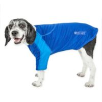 Chewitt Wagassy Large Triple-Toned Long Sleeve Performance Dog T-Shirt in Blue