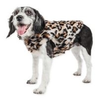 Pet Life® Medium Luxe Lab-Pard Dog Coat