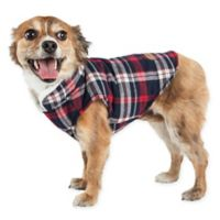 Pet Life® Medium Puddler Plaid Insulated Dog Coat