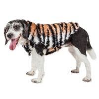Large Tigerbone Glamorous Mink Fur Dog Coat