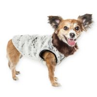 Pet Life® Medium Luxe Purrlage Dog Coat
