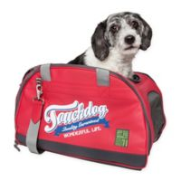 Touchdog Original Wick-Guard water Resistant Pet Carrier in Red