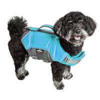 Tidal Guard Medium Dog Life Jacket in Blue