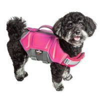 Tidal Guard Medium Dog Life Jacket in Pink