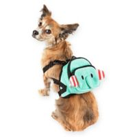 Pet Life® Medium Dumbone Dog Harness Backpack