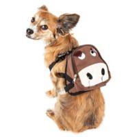 Pet Life® Medium Mooltese Dog Harness Backpack