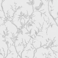 Graham & Brown Laos Trail Wallpaper in White