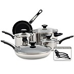 Farberware® High Performance Stainless Steel 12-Piece Cookware Set