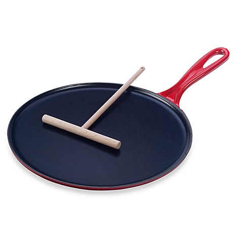 Buy Le Creuset 174 10 75 Inch Cast Iron Crepe Pan In Cherry