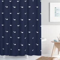 Moby 72-Inch x 72-Inch Shower Curtain in Navy