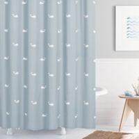 Moby 54-Inch x 78-Inch Shower Curtain in Spa Blue