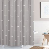 Moby 72-Inch x 84-Inch Shower Curtain in Grey