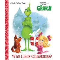 """Random House Dr. Seuss' The Grinch """"Who Likes Christmas?"""" by Golden Books"""