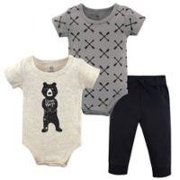 Yoga Sprout Size 18-24M 3-Piece Bear Hugs Bodysuit & Pants Set