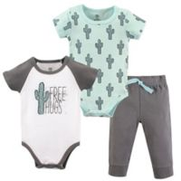 Yoga Sprout Size 6-9M 3-Piece Free Hugs Bodysuit & Pants Set