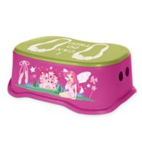 Toddler Step Stool in Purple/Green