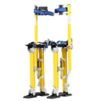 30-Inch Drywall Stilts in Yellow