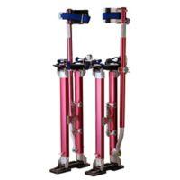 40-Inch Premium Drywall Stiltsin Red