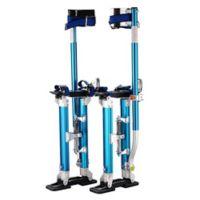 40-Inch Premium Drywall Stilts in Blue