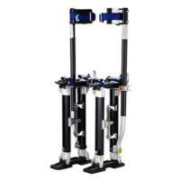 40-Inch Premium Drywall Stilts in Black