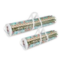 Elf Stor Wrapping Paper Storage Case (Set of 2)