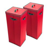 Elf Stor Wrapping Paper Storage in Red