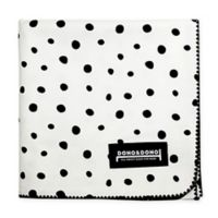 Dono&Dono Little Zoro Muslin Cuddle Blanket in Black/White