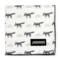 Dono&Dono Little Zoro Cotton Cuddle Blanket in Black/White