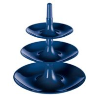 Babell 3-Tiered Server in Blue