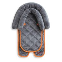 Diono™ 2-in-1 Head Support in Grey with Orange Trim
