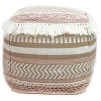 Tov Furniture™ Upholstered Shaka Pouf Ottoman