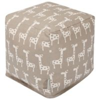 Majestic Home Goods™ Cotton Stretch Ottoman in Maple