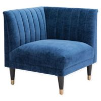 Zuo® Raven Armchair in Blue