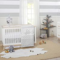 Just Born® Big Dreamer 3-Piece Crib Bedding Set in Grey/White