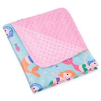 Wildkin Mermaids Plush Blanket in Pink/Blue