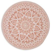 Atrium Round Placemat in Blush