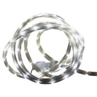 CC Christmas Décor 10-Foot Tube String Lights in Pure White