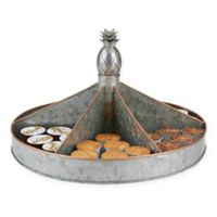 Mind Reader Metal Free Standing Lazy Susan/Turntable in Silver