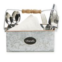 Mind Reader Metal Free standing Flatware Caddy