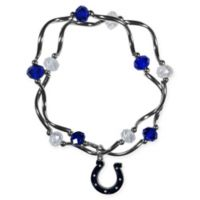 NFL Indianapolis Colts Double Strand Stretch Bead Bracelet