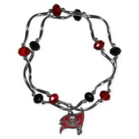 NFL Tampa Bay Buccaneers Double Strand Stretch Bead Bracelet