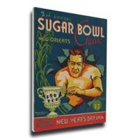 1936 Sugar Bowl TCU vs. LSU Football Bowl Game Wall Art
