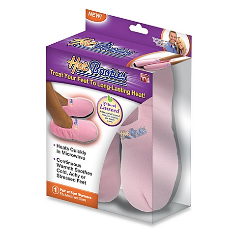 Hot Booties™ Microwavable Slippers - Pink